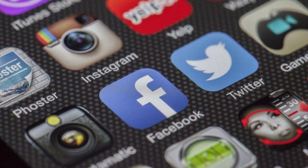 Les icônes des réseaux sociaux - Facebook - Insta